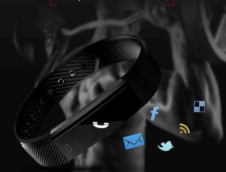 Smart Wristbands Fitness Tracker Smart Bracelet Pedometer Bluetooth