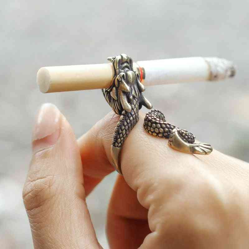 Retro Punk Dragon Cigarette Holder