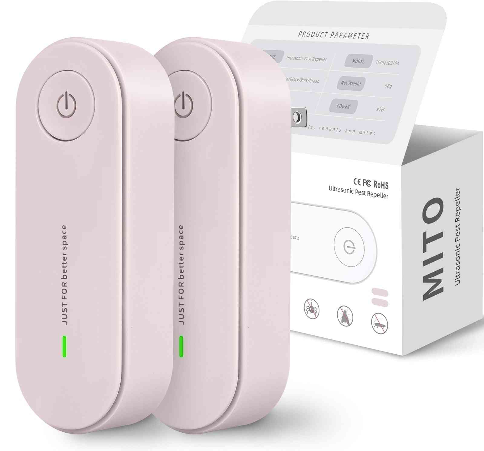 Ultrasonic Insect Repellent Electronic Mosquito Pest Control