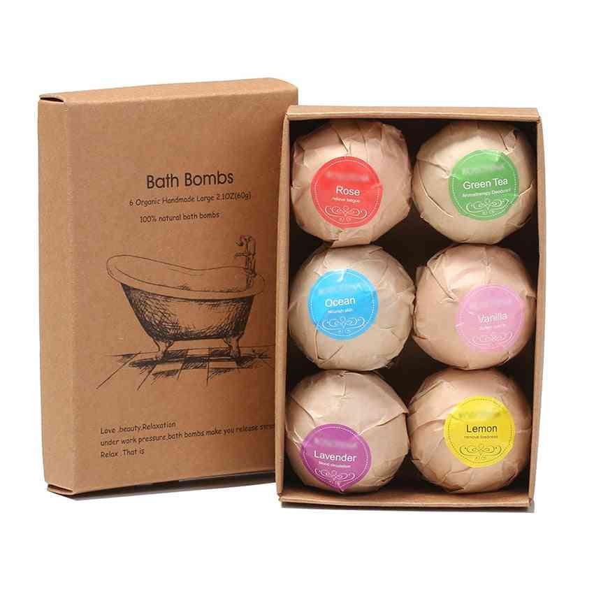 Soap Bubble Shower Bombs Ball Body Cleaner
