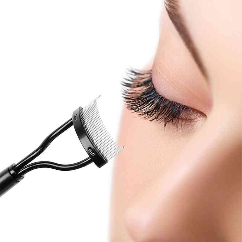 Makeup Mascara Guide Applicator, Portable Eyelashes Comb