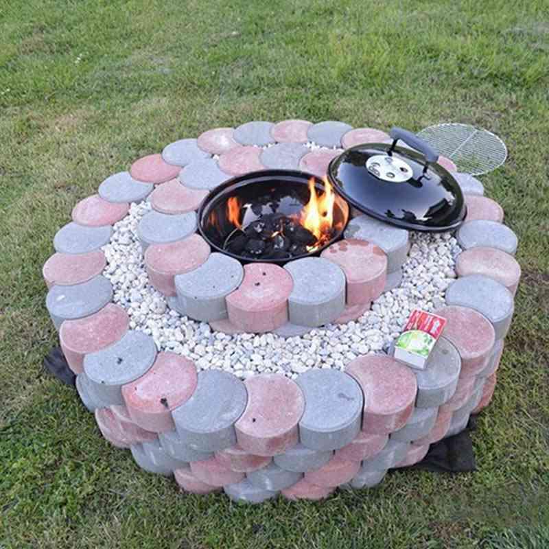 Stepping Stone Cement Brick Maker