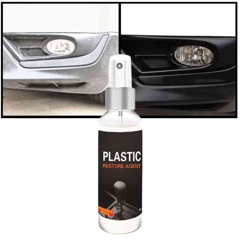 Plastic Restore & Wax Retreading Agent Renewed  Car Paint Car Refurbishing Agent