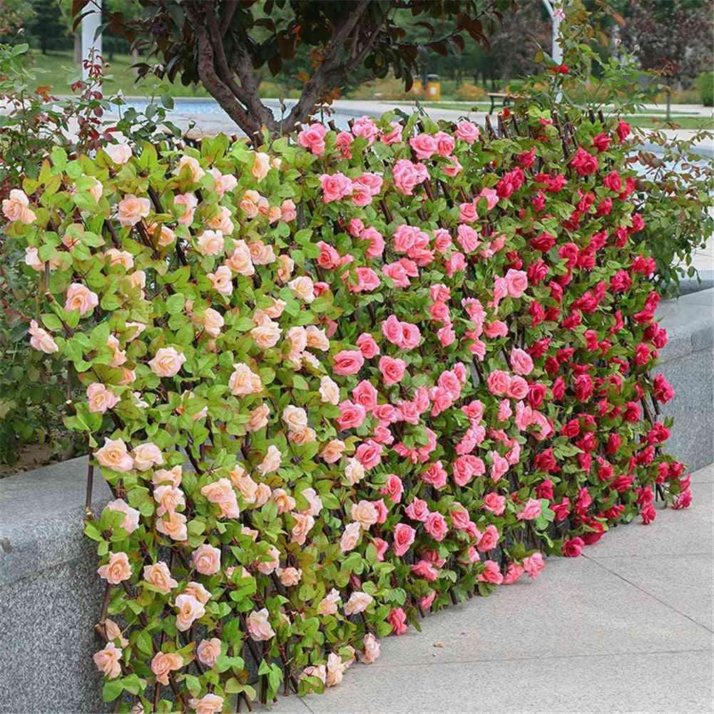 Garden Decoration Screening Expanding Trellis