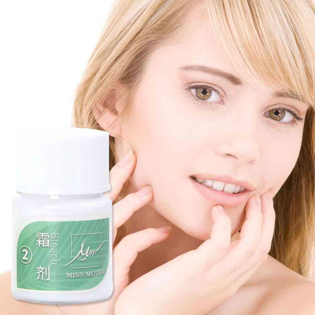 Women Mustache Remove Eye Brow Bleach Fast Permanent Hair Bleaching Cream