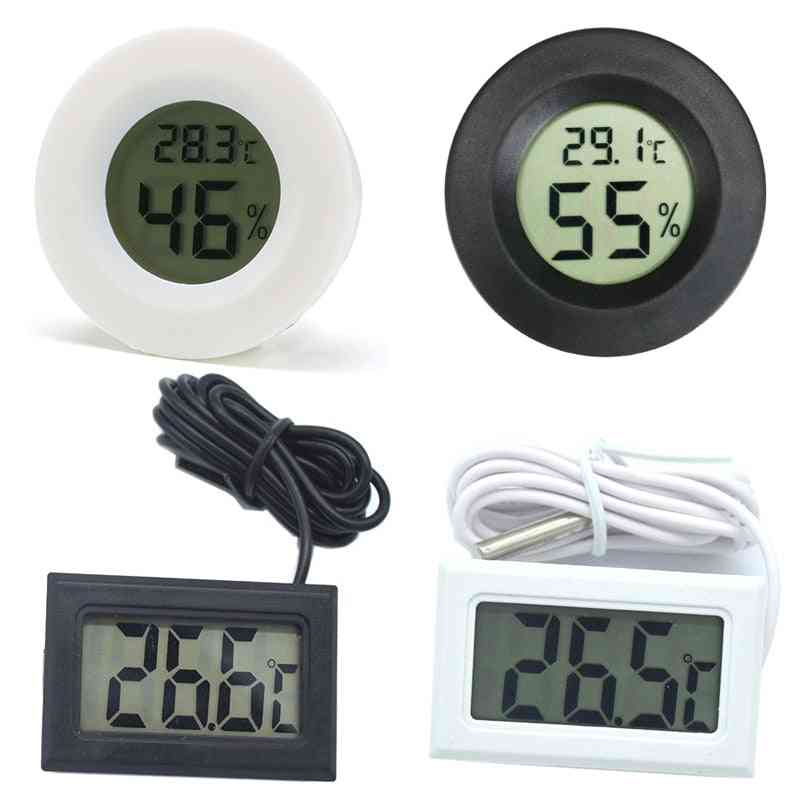 Digital Thermometer Hygrometer Meter