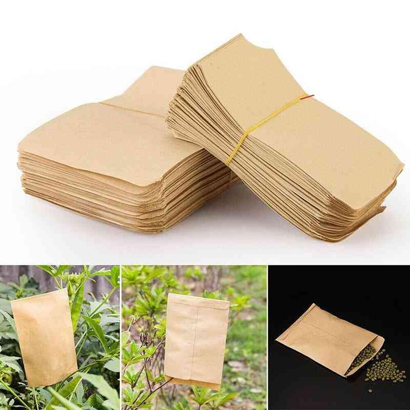 Kraft Paper Seed Mini Packets Envelopes Garden Storage Bag
