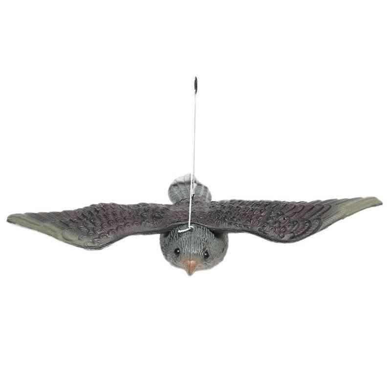Realistic Flying Bird Hawk Pigeon Decoy