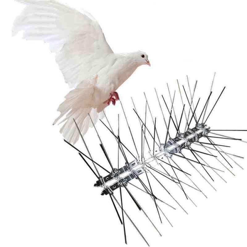 Plastic Repeller Bird And Pigeon Spikes Deterrent