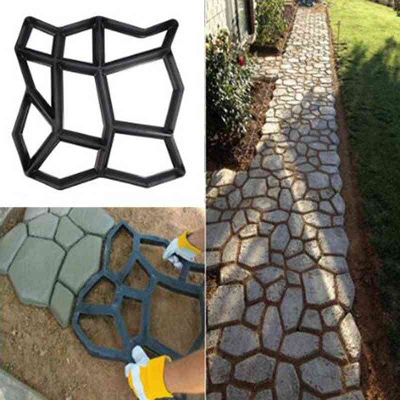 Paving Mould Floor Road Concrete Stepping Driveway Stone Path Mold Patio Maker