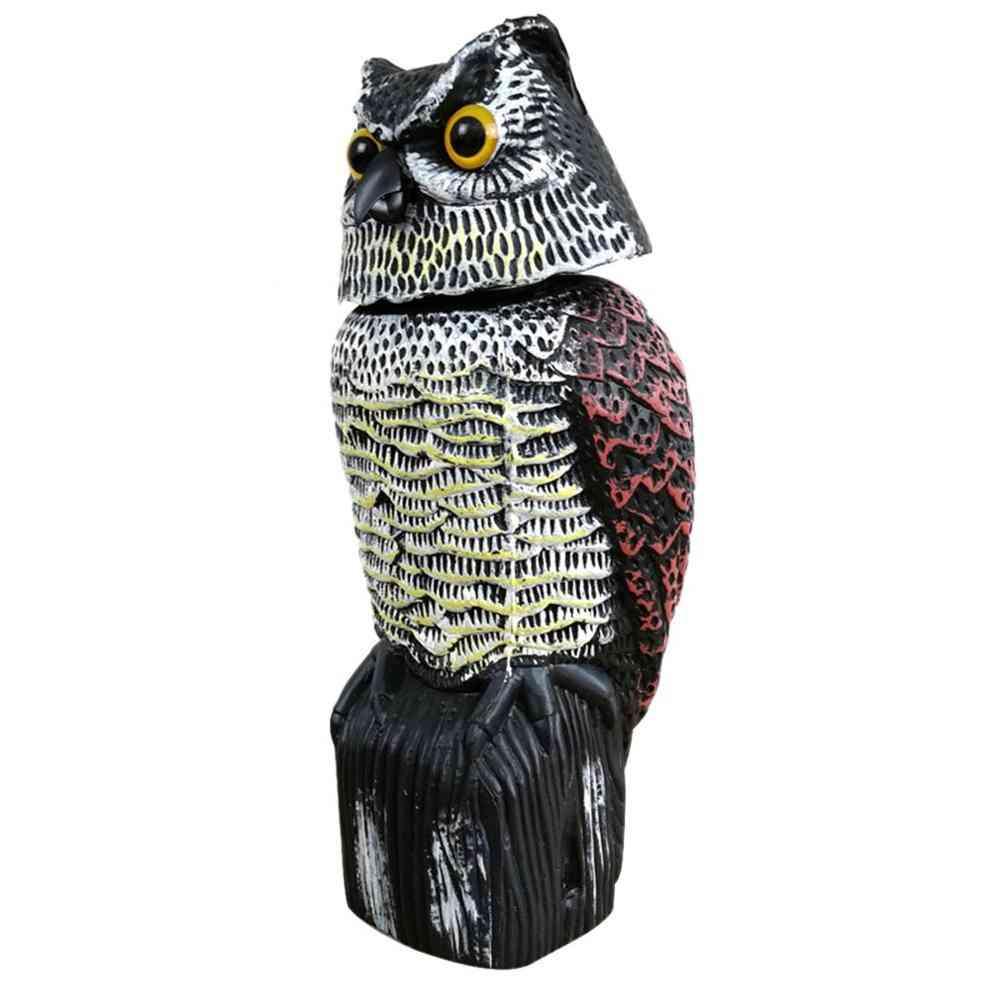 Rotating Head Sound Owl