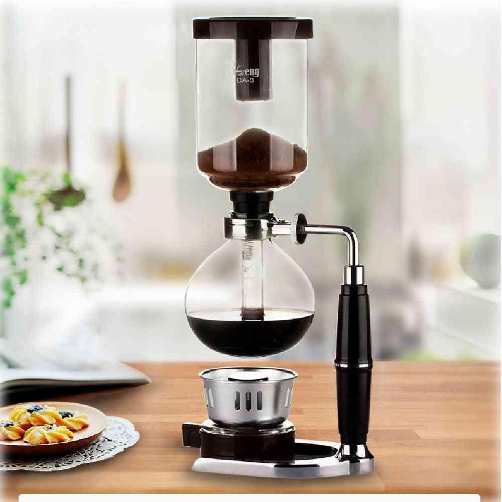 Glass Type Siphon Coffee Machine Filter