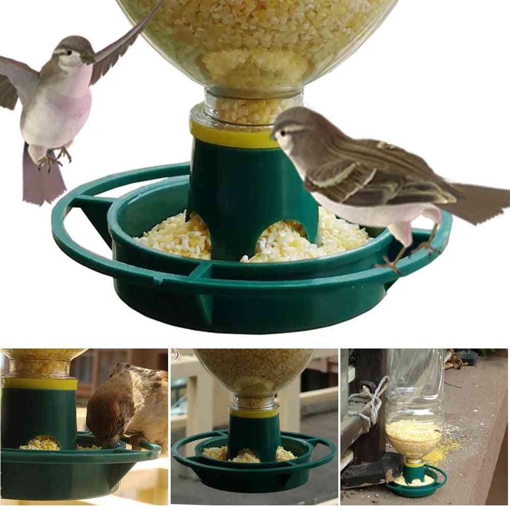 Wild Bird Seeds Feed Forest Hanging Cup Garden Feeding Bird Feeder