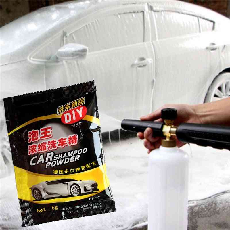 Car Wash Powder Cleaning Shampoo, Multifunctional Tools, Soap Windshield Clean Accessories