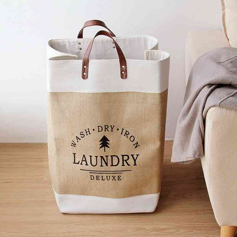 Waterproof Collapsible Laundry Foldable Storage Baskets
