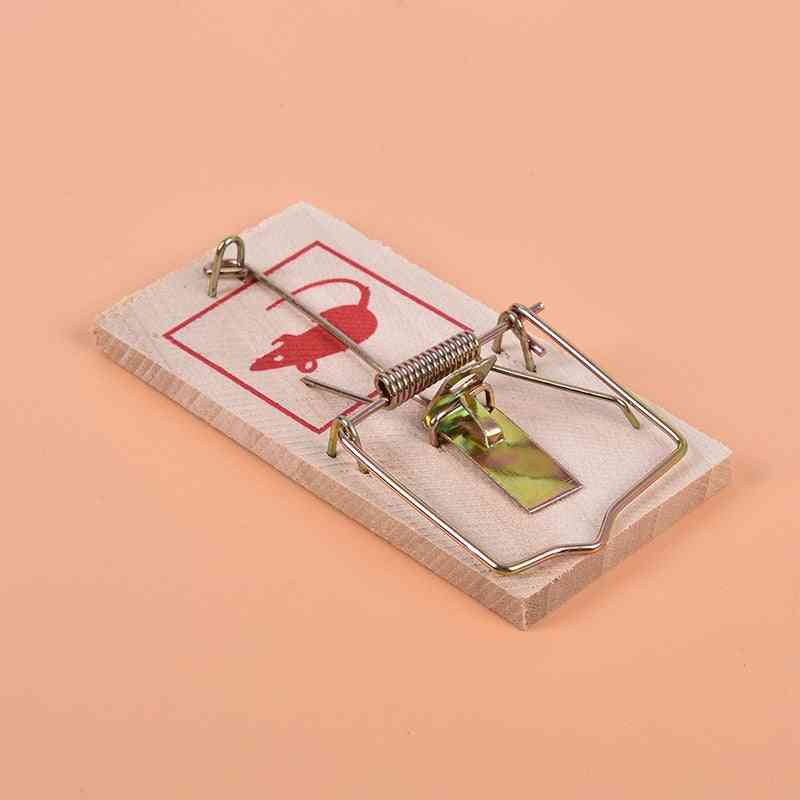 Wood And Metal Reusable Mouse Traps