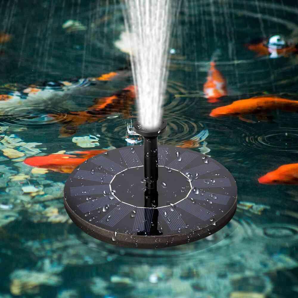 Outdoor Solar Fountain For Garden