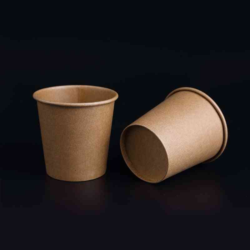 Mini Kraft Paper And Small Disposable Cup