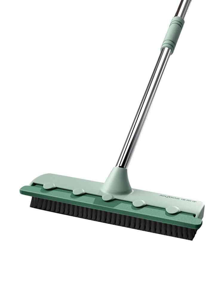 Pool Scrub Brush 2 In 1 Bathroom Wiper Floor Mop