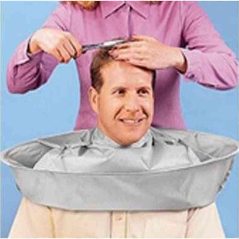 Diy Creative Hair Cutting Apron, Barber Umbrella Cloak