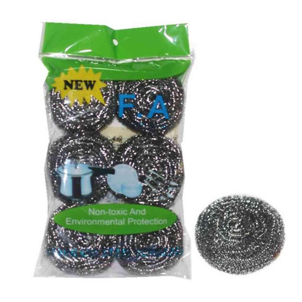 Stainless Steel Sponges Scrubbing Scouring Pad