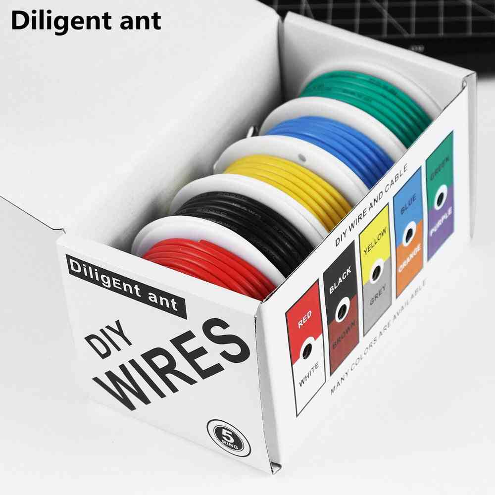 Diy High Quality Flexible Silicone Wire And Cable