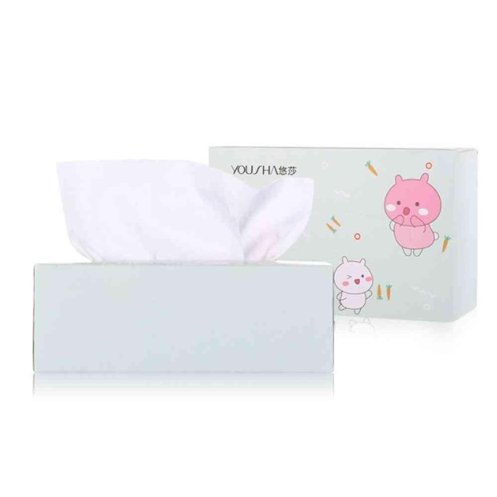 60pcs Travel Cotton Mesh Disposable Wash Towel Soft Clean Beauty Towel