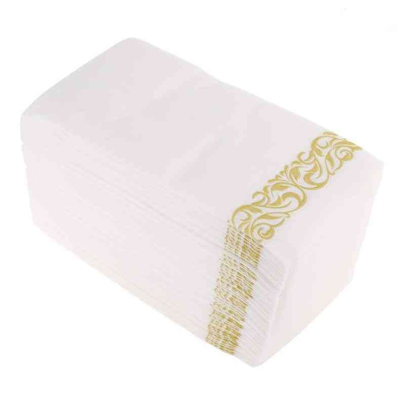 Disposable Hand Towels And Decorative Bathroom Napkins