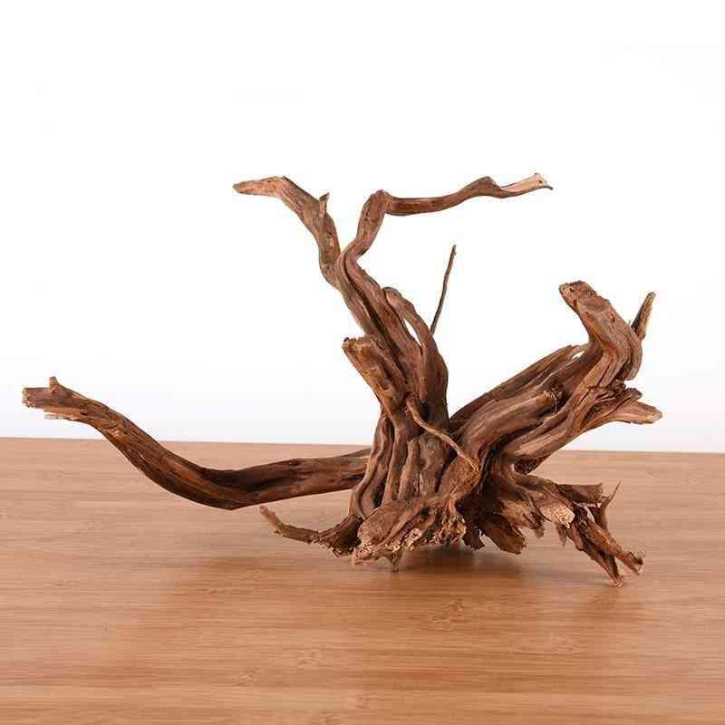 Natural Tree Trunk Driftwood Aquarium Decoration Home Desktop Decoration,  Fish Tank Driftwood