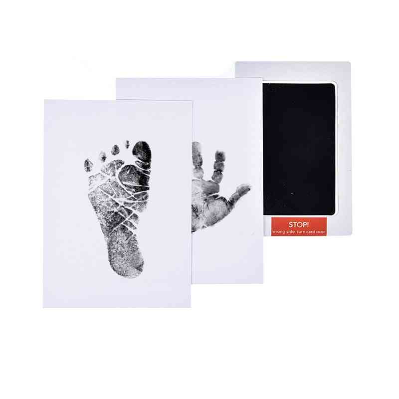 Baby Footprints Handprint Ink Pads Pet Paw Prints Souvenir Safe Non-toxic Ink Pads Kits For Baby Pet Wholesale