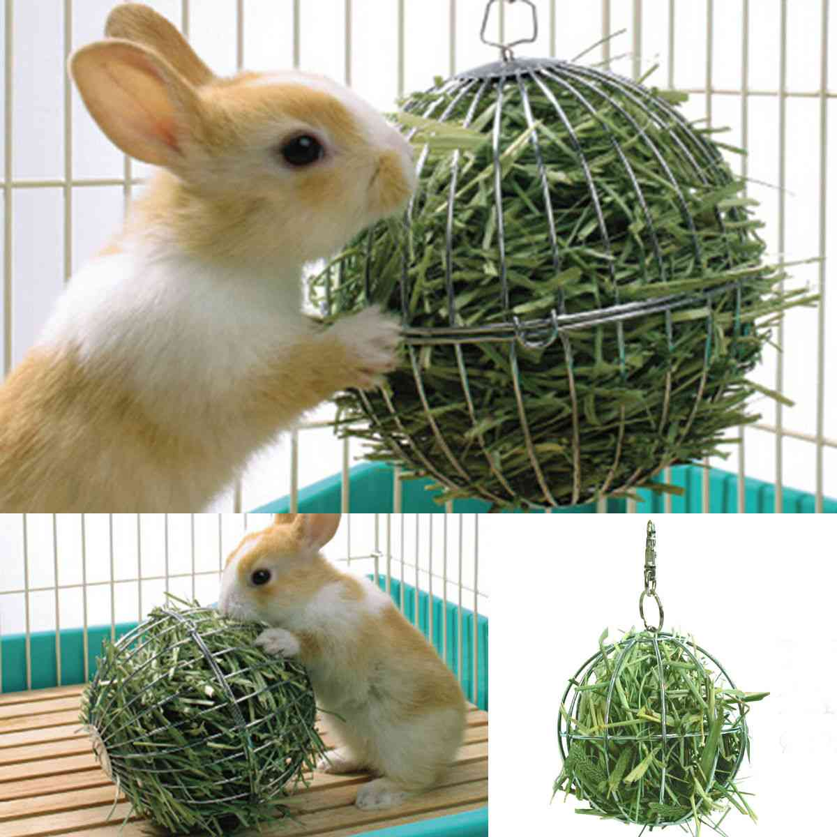 Round Sphere Food Feed Dispenser Hanging Ball