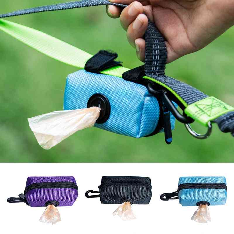 Leash Attachment Adjustable Mini Travel Dogs Waste Poop Bags