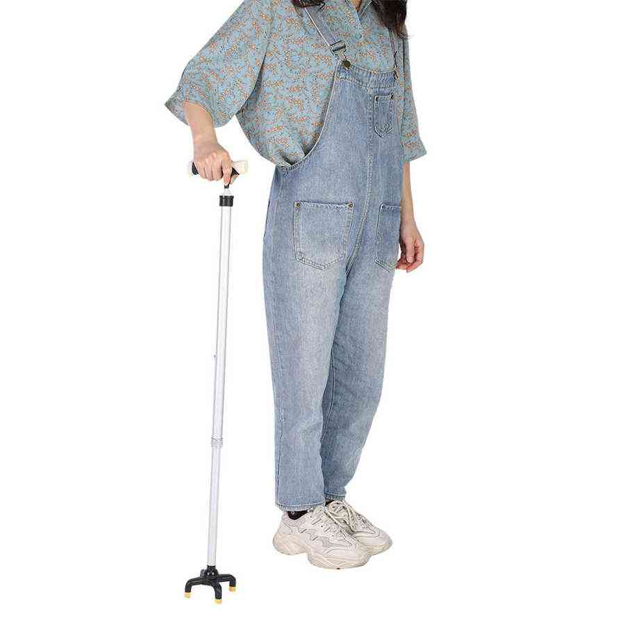 Multi-purpose Aluminum Alloy Elderly Walking Cane