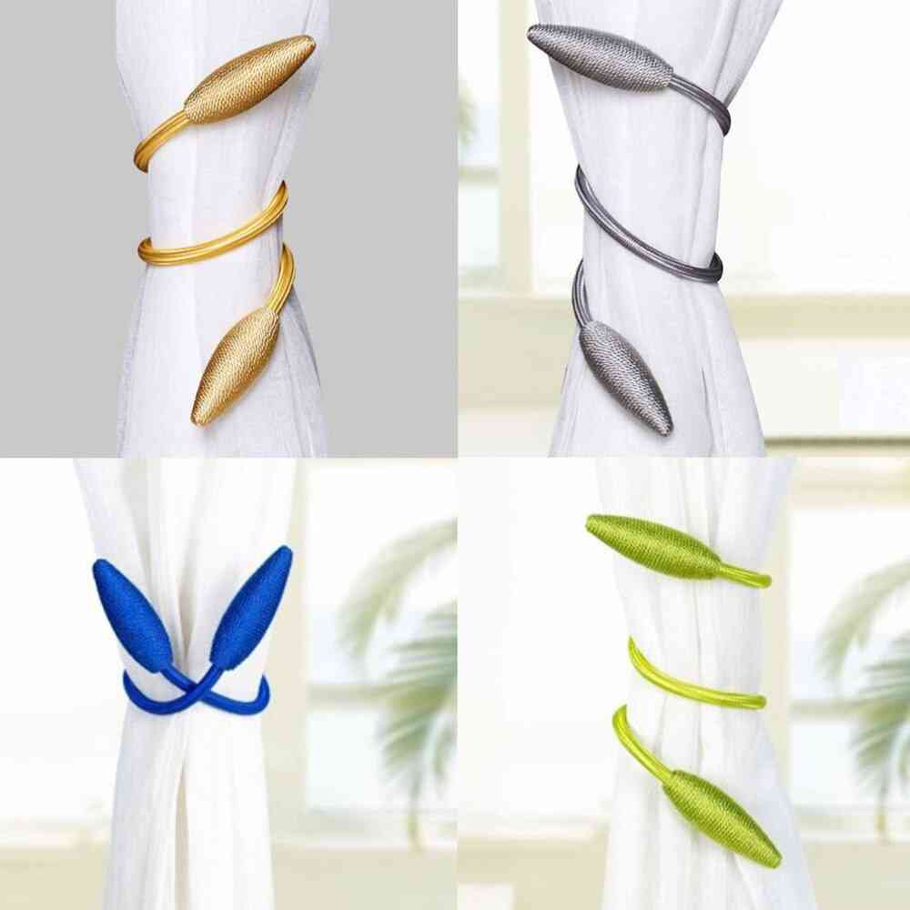 Magnetic Universal Curtain Tie Rings