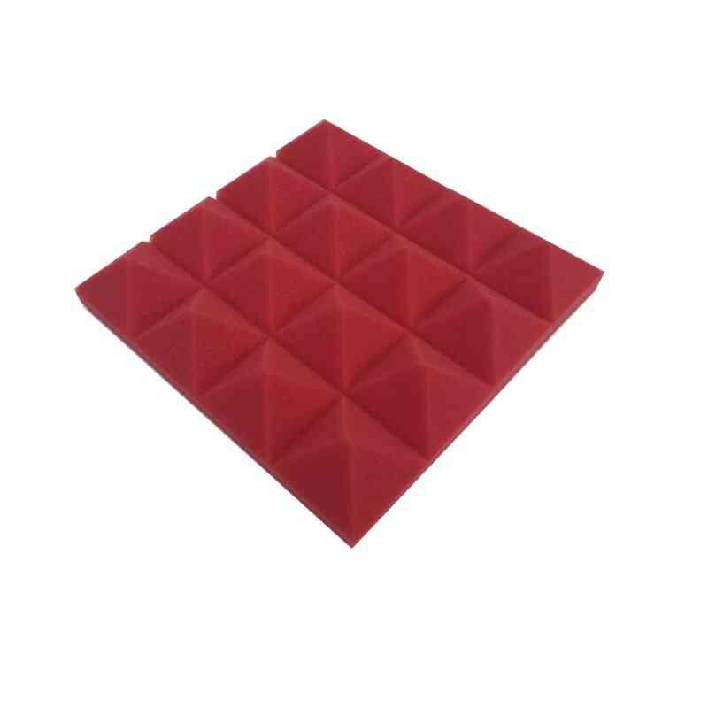 Studio Soundproof Pyramid Sound Absorption Treatment Panel Tile