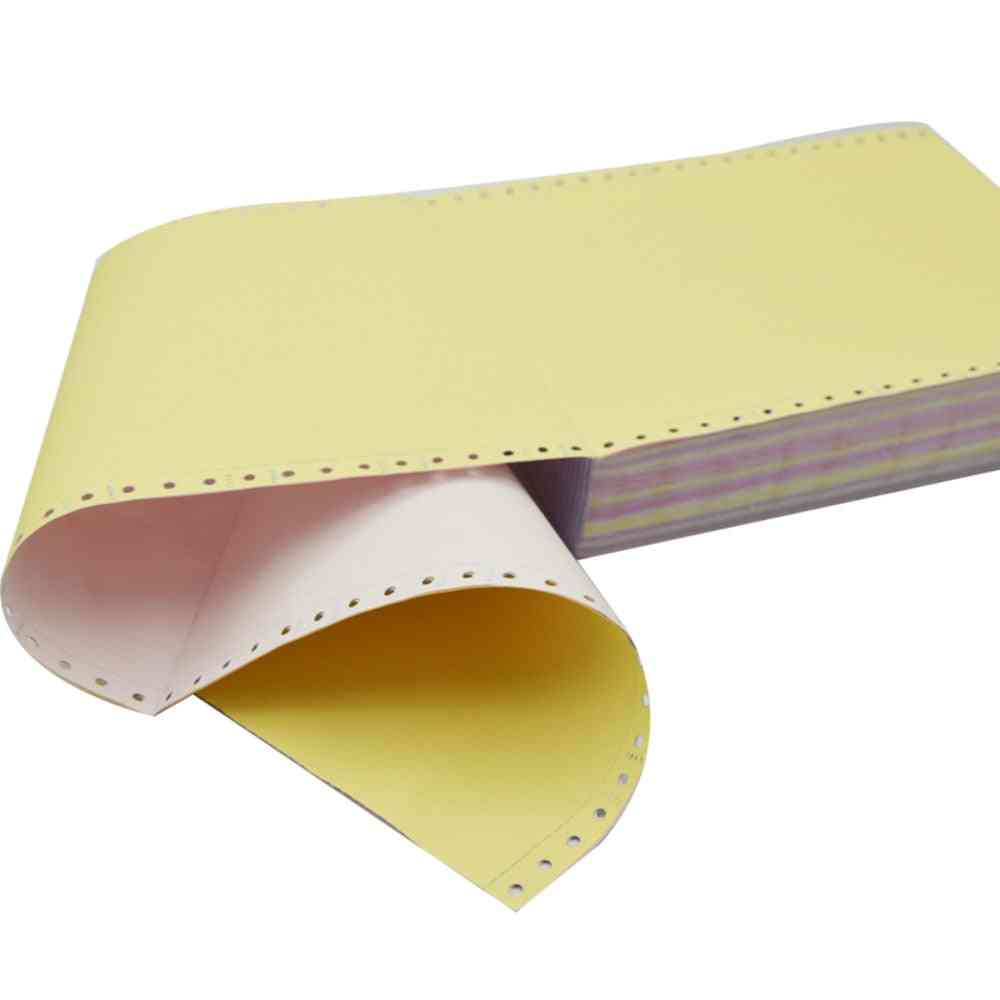Ncr Carbonless Triplicate Paper For Office, School