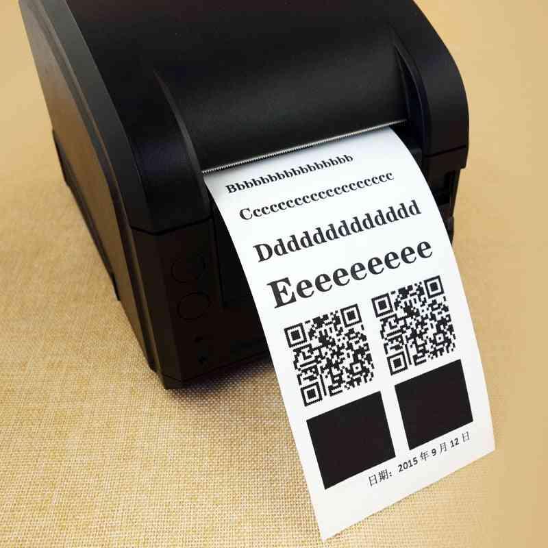 Thermal Paper, Premium Cash Register Receipt Roll Bpa Free