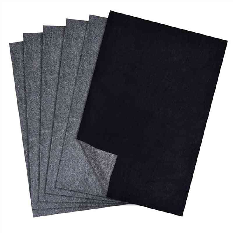 A4 Size Thin Painting Accessories, Legible Tracing, Reusable Copy, Clear, Graphite Carbon Paper