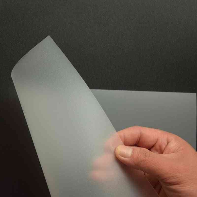 Transparent Matte Binding Cover, Pp Plastic Binding Film, Document Data Cover, Contract Bidding Sheet, Office Supplies