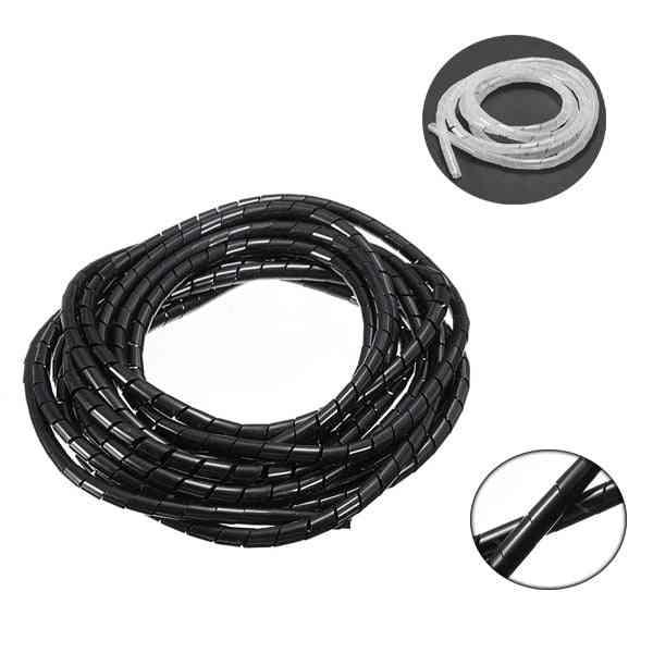 Spiral Wrapping Wire Organizer Sheath Tube