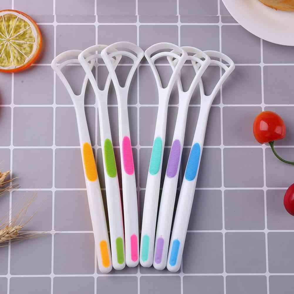 Oral Care Hygiene Keep Fresh Breath Tongue Clean Tool