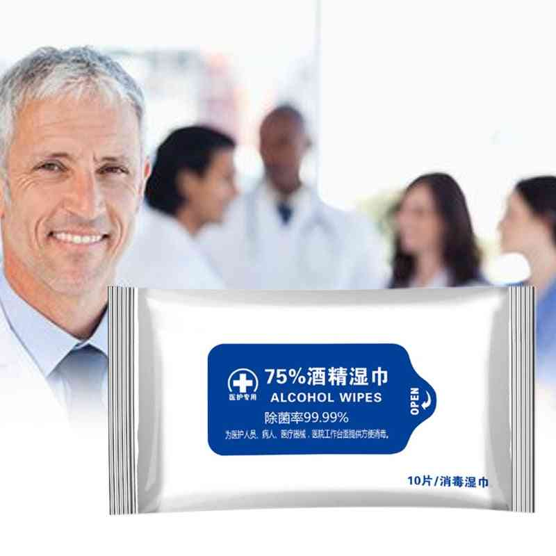 Portable Cleaning Sterilization Alcohol Wipe