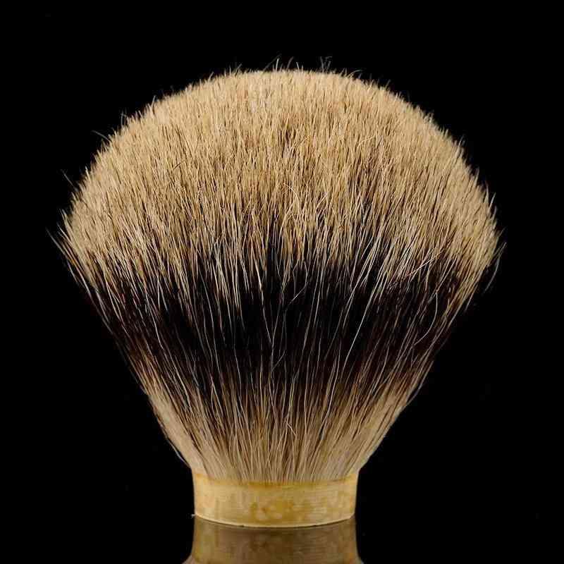 Two Band Badger Hair Knot Shaving Brush