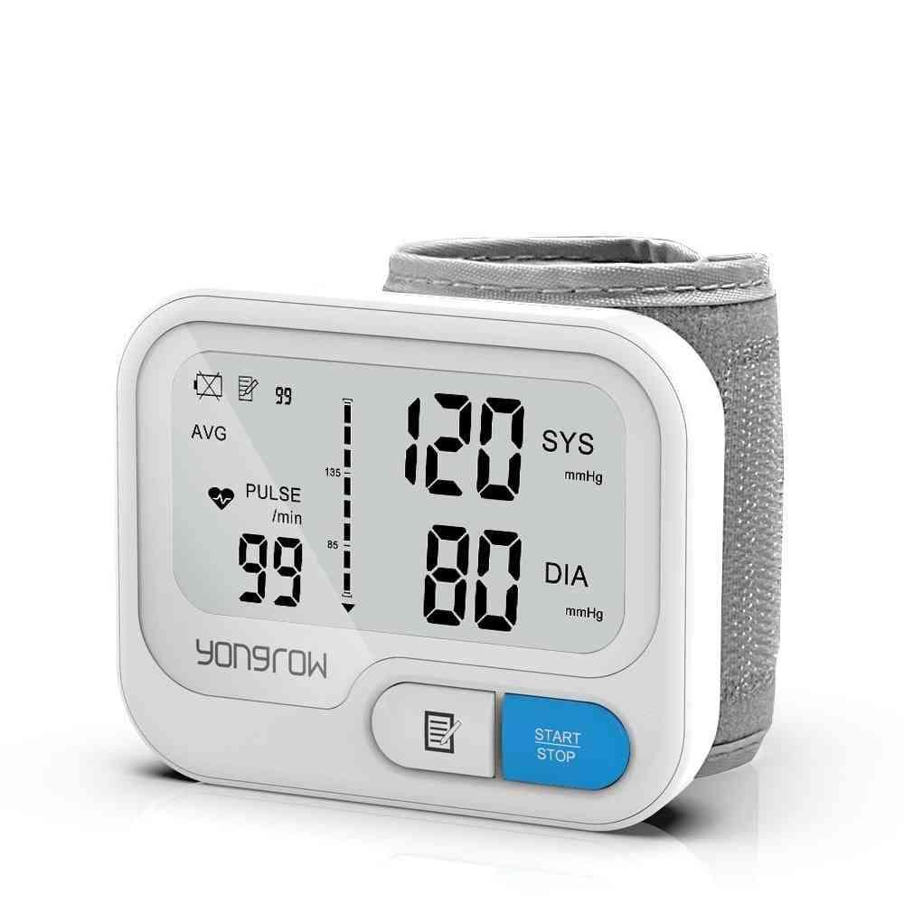 Automatic Digital Wrist Blood Pressure