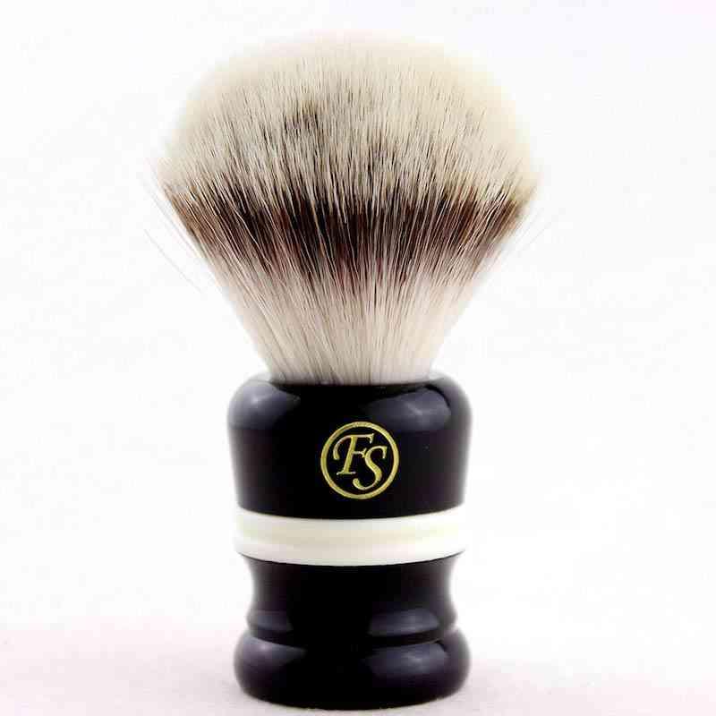 Fiber Shaving Brush Black & White
