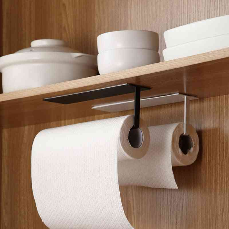 Wall Mounted Non Perforated Paper Towel Holder
