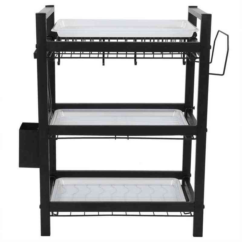 3 Tier Stainless Steel Dish Drying Rack