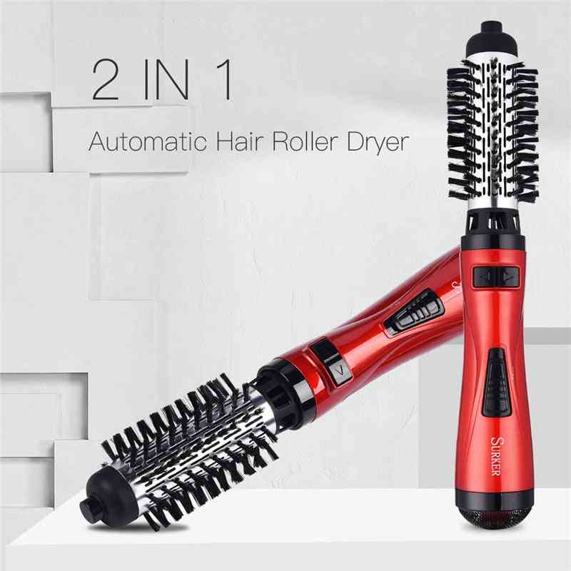 Hair Dryer Curler Comb And Straightening Curling Brush Roller Dryer Hair Styling