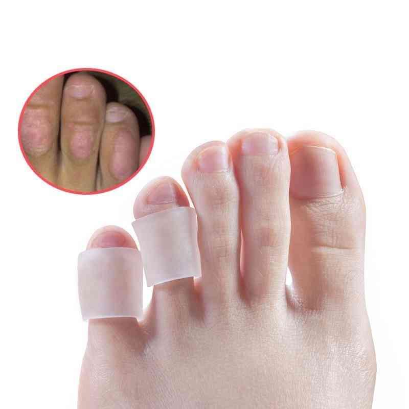 Silicone Gel Little Toe Tube Corns Blisters Corrector