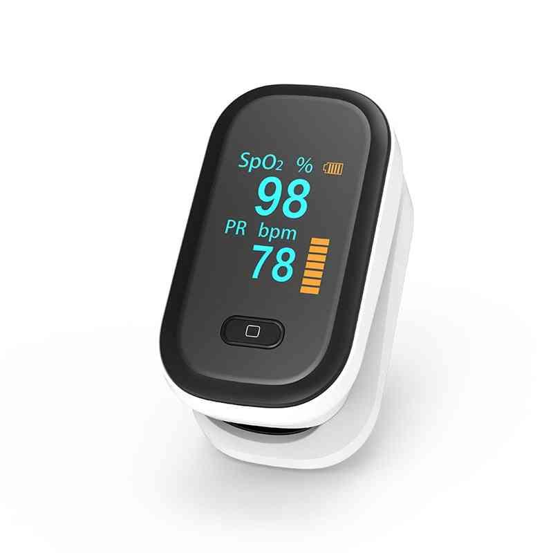 Pulse Oximeter, Pr Monitor, Heart Rate Finger Blood Oxygen Saturation Meter